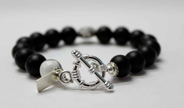 Black Diamond Eye Panther Bracelet