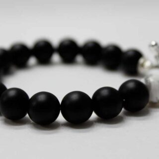 Black Diamond Eye Panther Bracelet