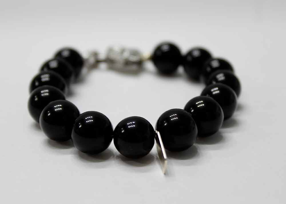 item this grounding dumbbell il matte bracelet black pyrite listing like nbui men onyx
