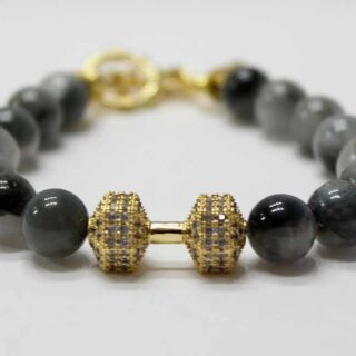 Fit Life Eagle Eye Dumbbell Bracelet