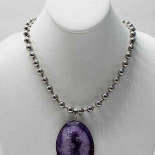 Mi Niña Bonita Morado Necklace