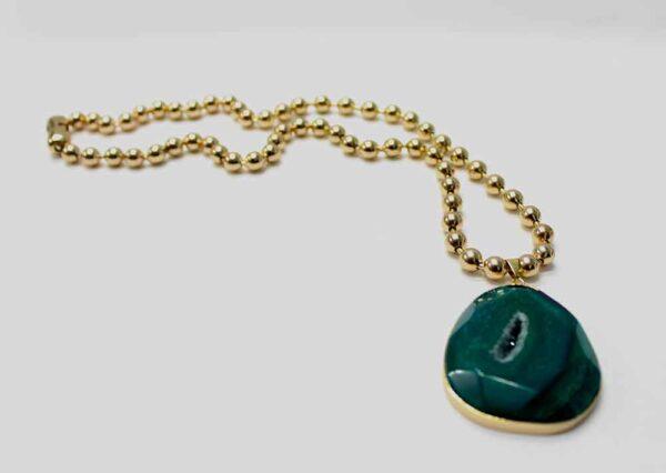 Mi Niña Bonita Verde Necklace