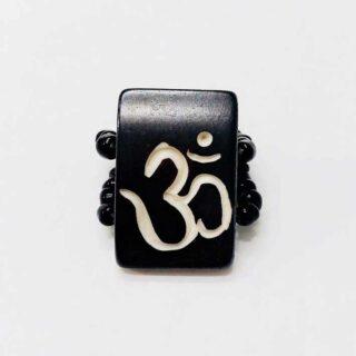 OM Bless Ring