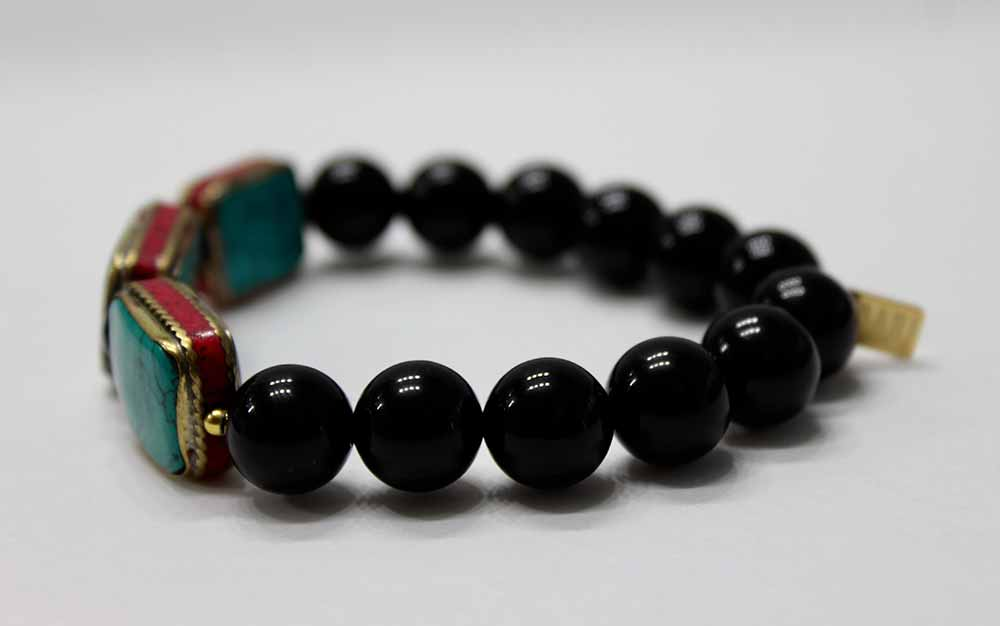 healing bracelet stressed gemstones heads product natural chakra